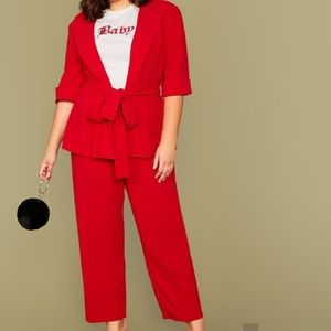 """NEW"" Red Shein Pantsuit"
